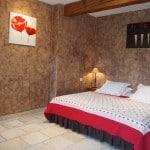 Chambre d'hote, Luberon, Provence - Chambre Glycine 1