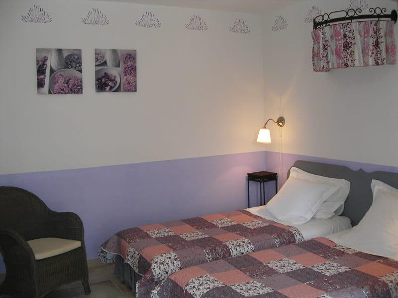 Chambre d'hote, Luberon, Provence - Chambre Provence 6
