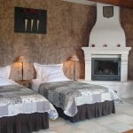 Chambre d'hôtes de charme dans le Luberon avec 2 lits séparés