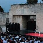 Festival de musique et théatre à Lacoste Luberon
