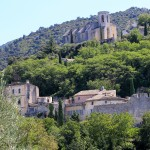 Village perché du Luberon, Oppède le Vieux