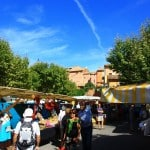 markets of Provence in Roussillon Luberon