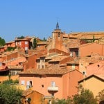 Perched village of Roussillon Luberon